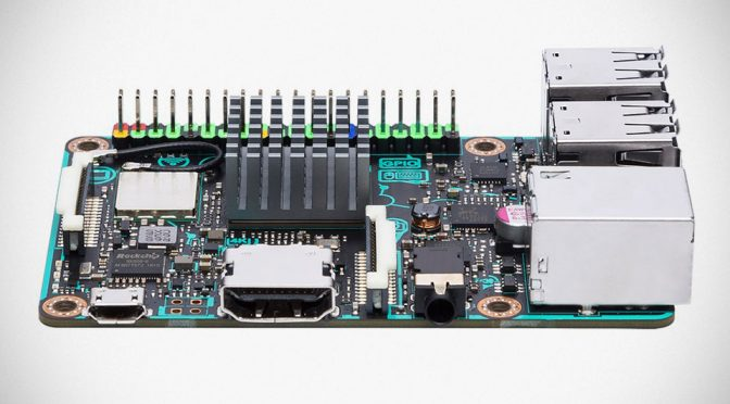 ASUS Takes On Raspberry Pi With Its Own Credit Card-sized Tinker Board