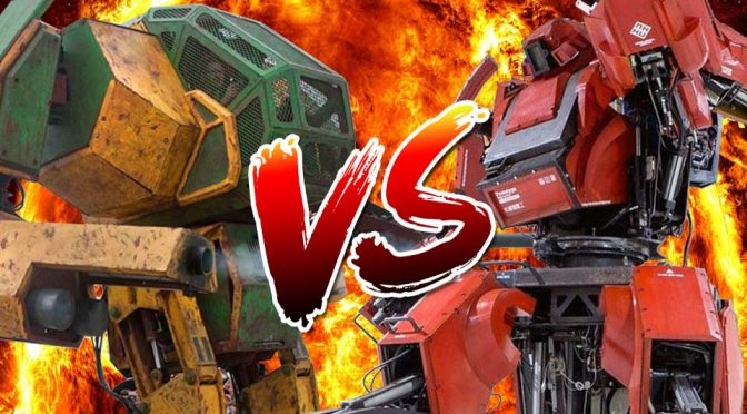 U.S. MegaBot versus Japan Kuratas Mech Finally Happening