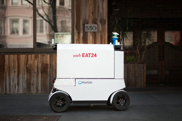Yelp Eat 24 Delivery Robot by Marble