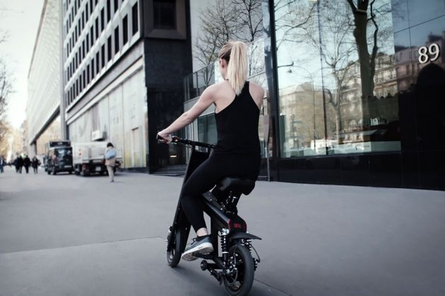 Aero Foldable Electric Bicycle by Weebot Folds In Seconds