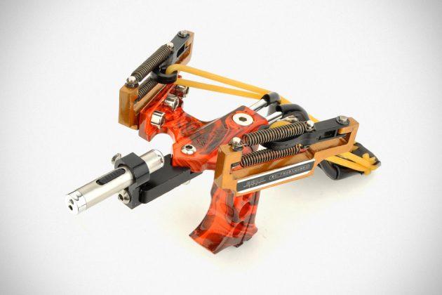 Assolar SS-12 Multi-function Hunting Laser Slingshot
