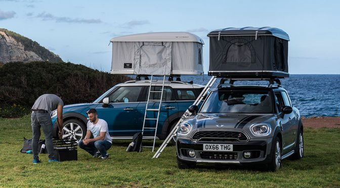 MINI Wants You Camp With MINI Countryman With This Roof Tent