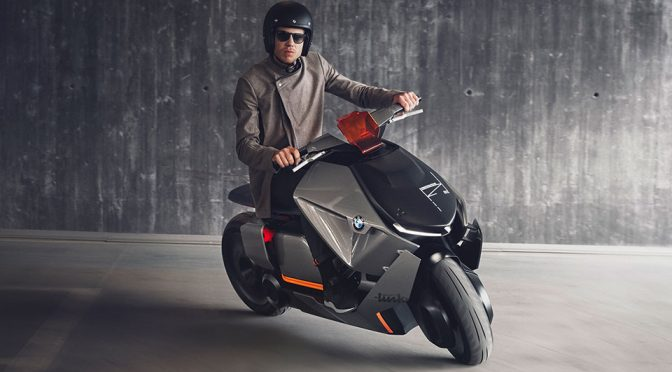 BMW Motorrad Concept Link Two-wheel Electric Urban Mobility