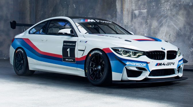 BMW Motorsport Range's 2018 BMW M4 GT4 Sales Launch