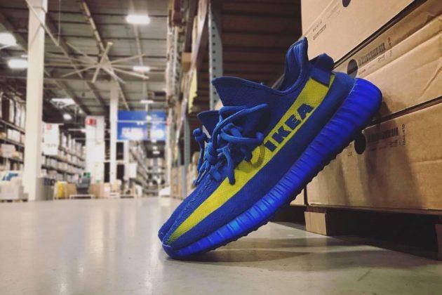 ba322e8ebf5 Marche Turned Photoshopped Ikea Yeezy Sneakers Into Reality