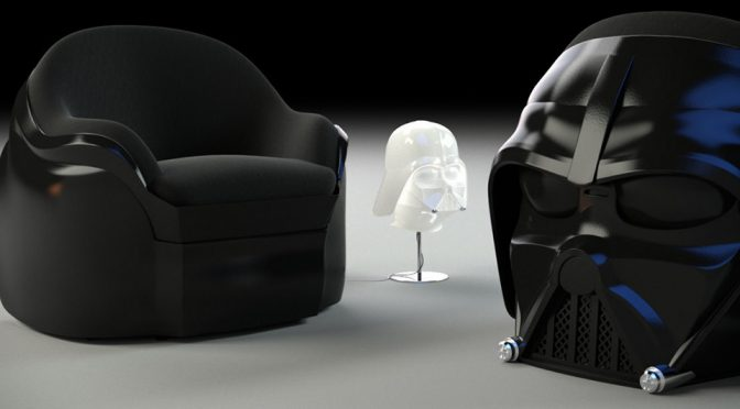 Custom Darth Vader Armchair Lets You Chill Like The Sith Lord