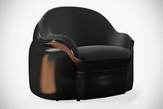 Custom The Dark Side Armchair by DSDStudio