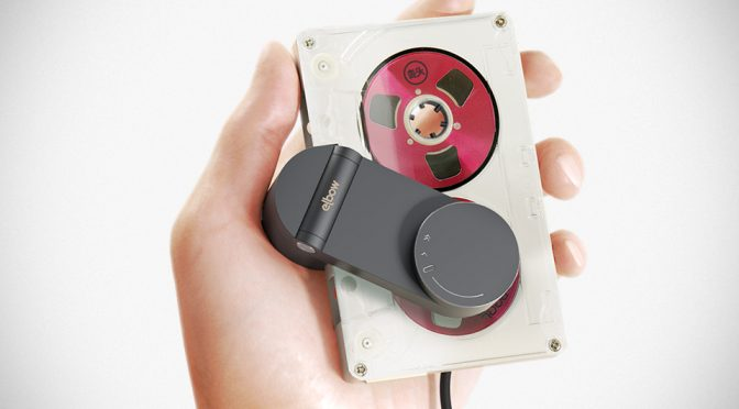 Elbow USB-powered Cassette Tape Playback Device
