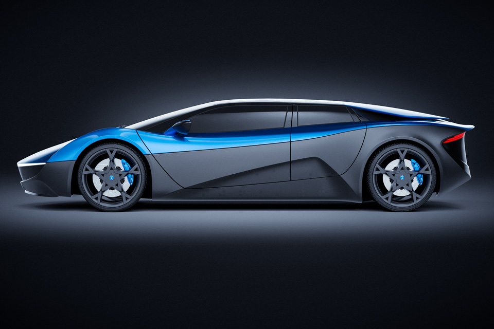 Lambo Ish 680 Hp 4 Door Electric Supercar Elextra Will Launch In 2019 Mikeshouts