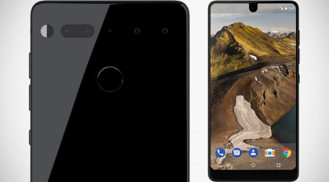 Andy Rubin's Essential Phone Also Don't Believe In Headphone Jack Too