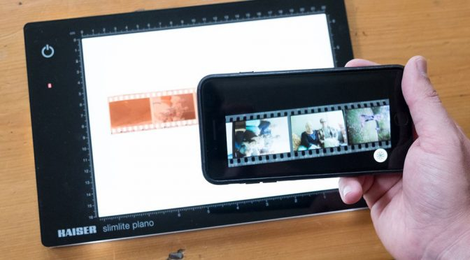 FilmLab Turns Negatives Into Digital Color Images by Snapping A Pic