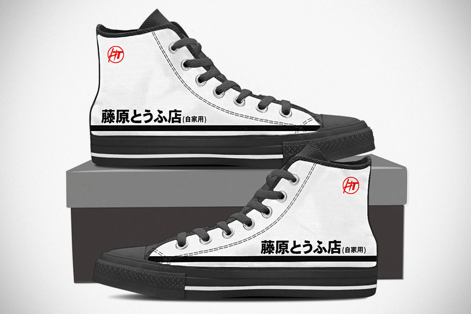 new balance shoes initial d anime shoes side