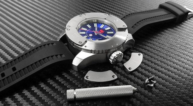 Heavy Armor Diving Watch by DELTAt