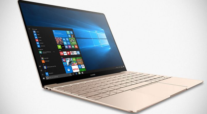 Huawei Introduced Three New MateBook Laptops