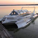 This Sci-fi-<em>ish</em> Speedboat-Submarine Hybrid Piques The Marines Interest