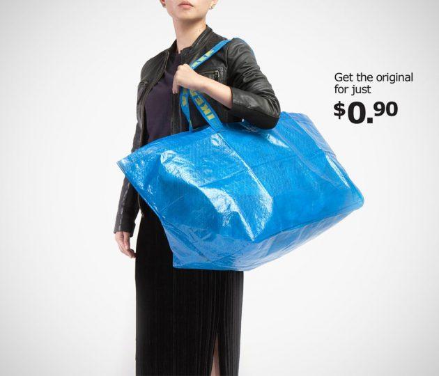 Ikea Poke Fun at Balenciaga's $2,145 Frakta Tote Bag-lookalike