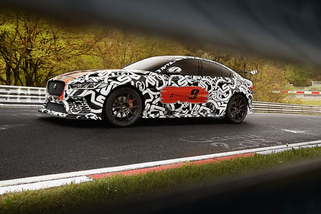 Jaguar XE SV Pro Project 8 by Special Vehicle Operations