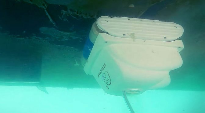 Meet Keelcrab Sail On, The World's First Boat Hull Cleaning Drone