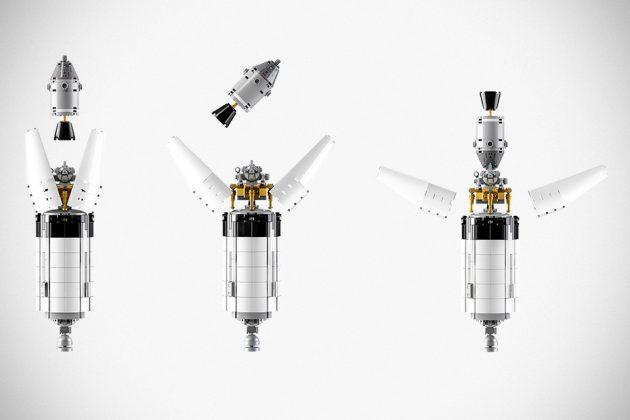 LEGO NASA Apollo Saturn V Moon Rocket Set