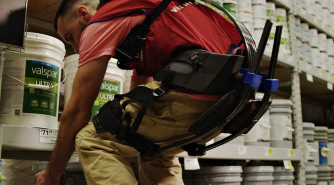 Lowe's Stock Employees Go High-tech With Specially Developed Exosuits