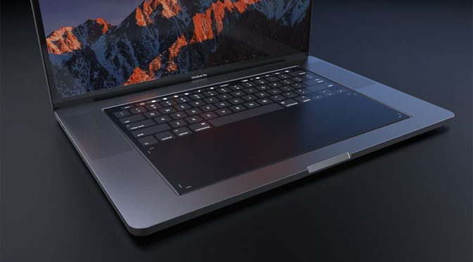 Bold MacBook Pro 2018 Concept Has Huge Touch Keyboard/Pad Hybrid