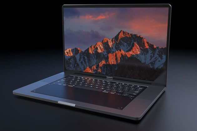 MacBook Pro 2018 Concept by Daniel Brunsteiner