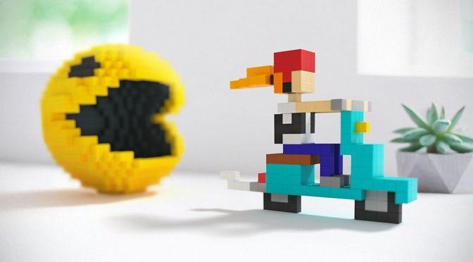 Stud-less Tiny, Magnetized Building Cubes Lets You Create 3D Pixel Art