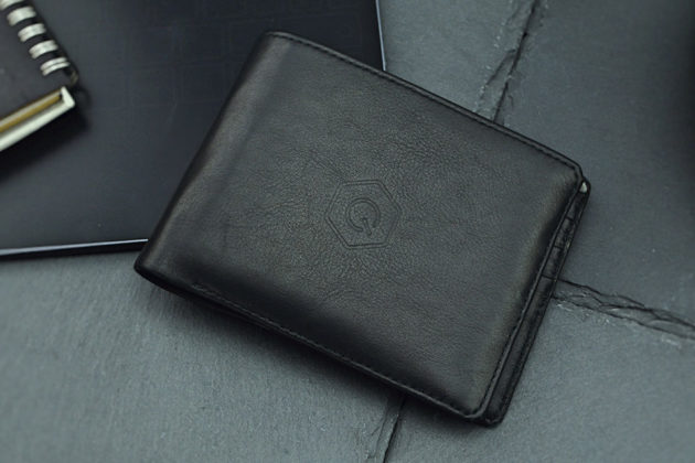 Poqit Trackable Smart Wireless Charging Leather Wallet