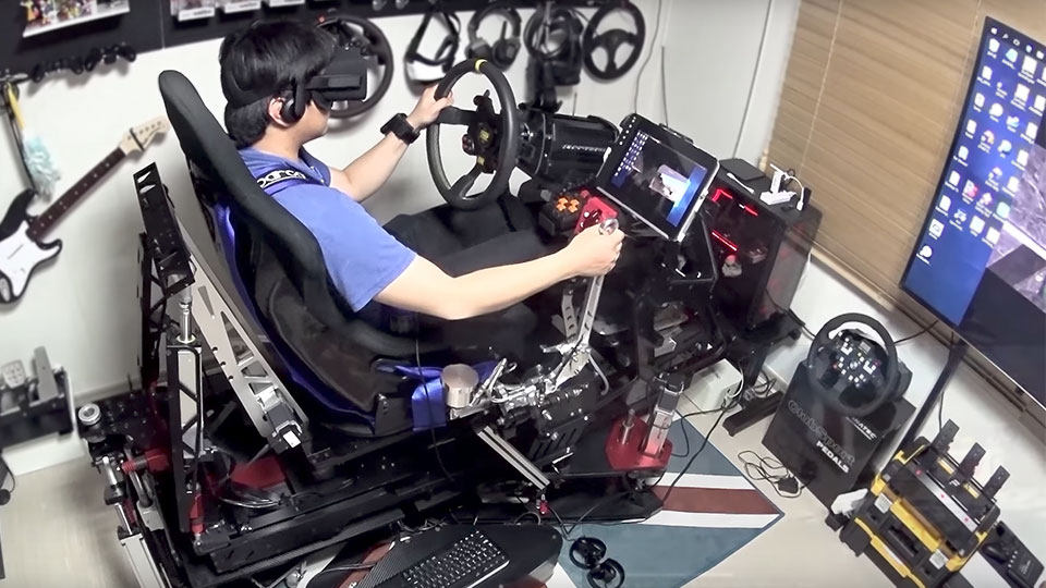 This 25k Diy Vr Racing Simulator Will Make You Want To