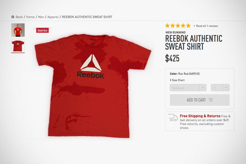 Reebok Authentic 'Pre-sweat' Sweat Shirt