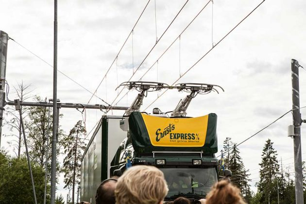 Siemens Public Electric Highway Started Trial In Sweden
