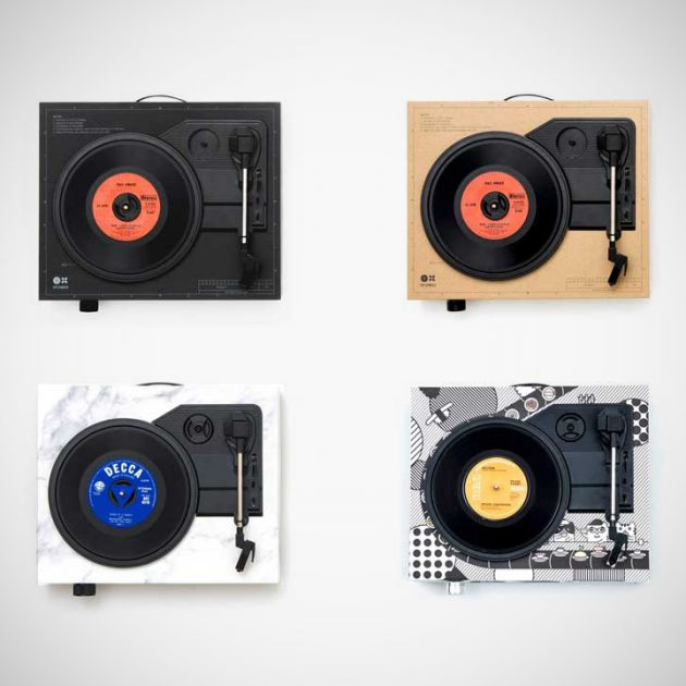 Spinbox DIY Portable Turntable