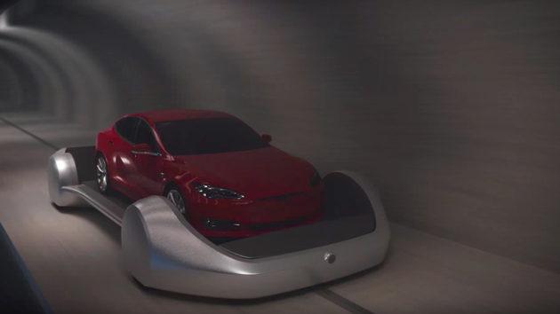 The Boring Company Futuristic Tunnels