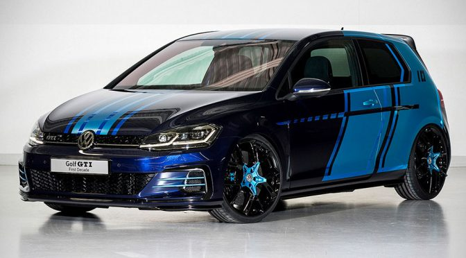 VW Has A 400 HP Hybrid Golf GTI With An Electric Drive That Will Surprise You