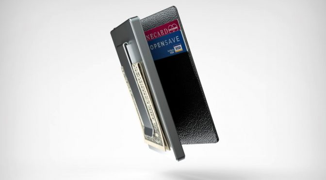 Zillion Wallet Is Sleek, Slim, And It Charges And Find Your Phone Too