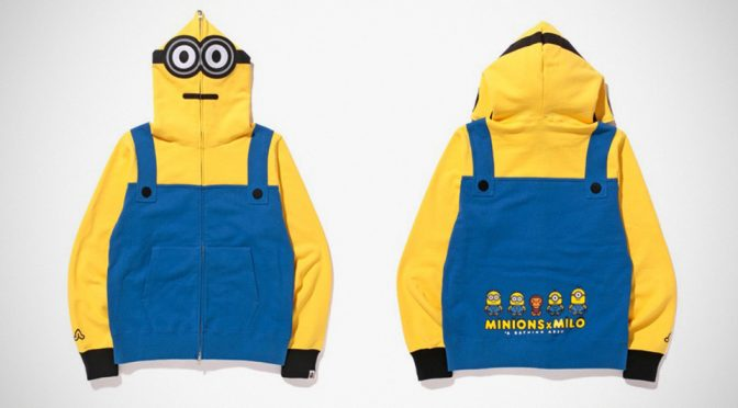BAPE X Minions Apparels Cos', Grown Men Deserve Minions Hoodies Too