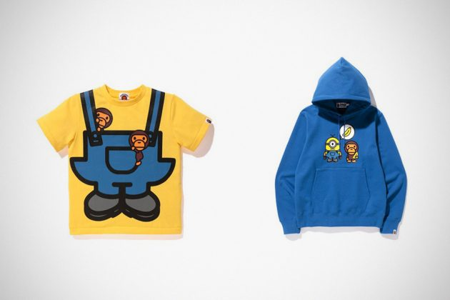 2017 BAPE x Minions Apparels For Grown Ups