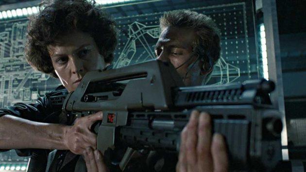 Aliens Colonial Marine M41-A Pulse Rifle Movie Prop
