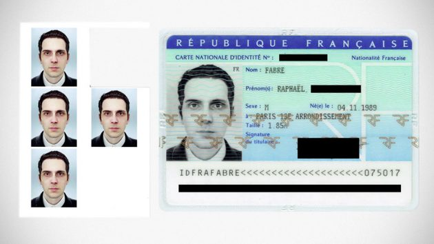 Artist Computer Generated Photo for ID Card
