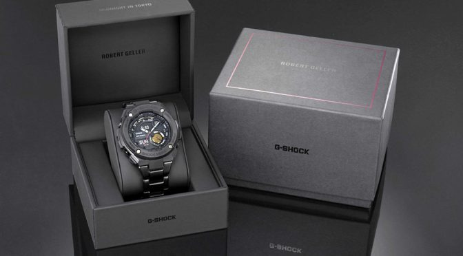 CASIO G-Shock x Robert Geller Limited Edition G-Steel Watch