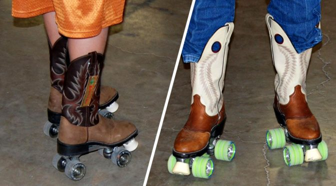Cowboy Boot With Roller Skates: Blasphemy Or Changing Times?