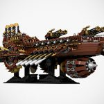 Custom LEGO Steampunk Battleship Really Should Be An Official LEGO Set!