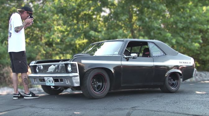Love Chevy? Then You Really Have To Check This Miniature 1970 Chevy Nova