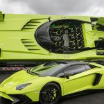 This Green Lamborghini Aventador Comes With A Matching Speedboat