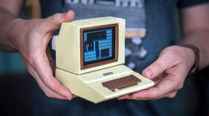 Man Built A Working Miniature Apple II Computer And You Can Too