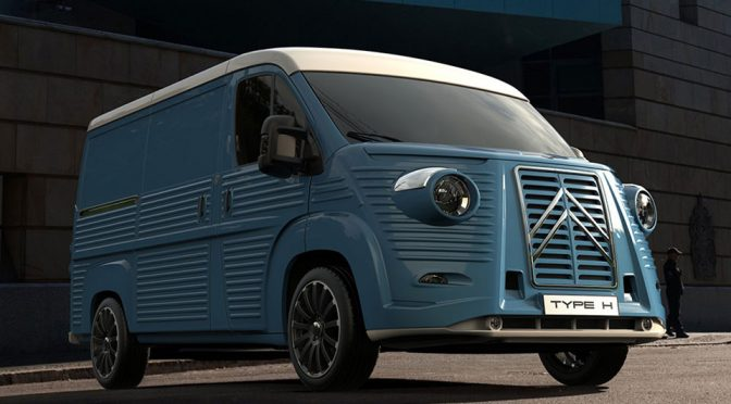 Citroën HY Tribute Van, Type H 70th Anniversary Van Goes On Sale