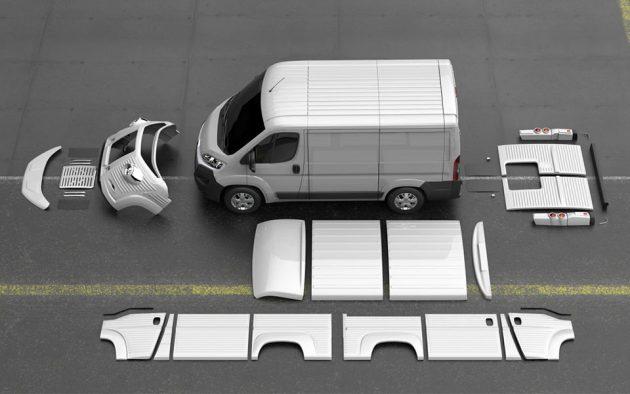 Fabrizio Caselani x David Obendorfer Type H 70th Anniversary Van