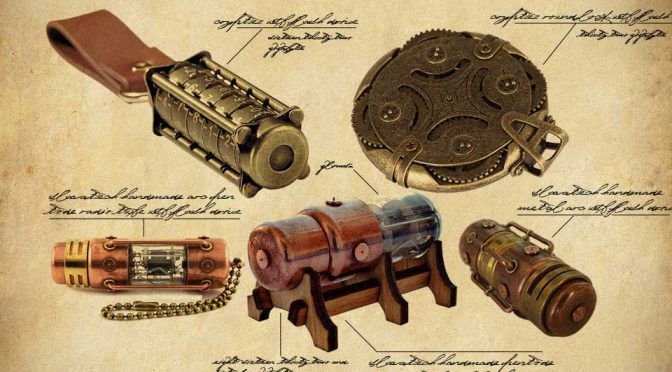 Five Steampunk USB Flash Drives For Steampunk Lovers