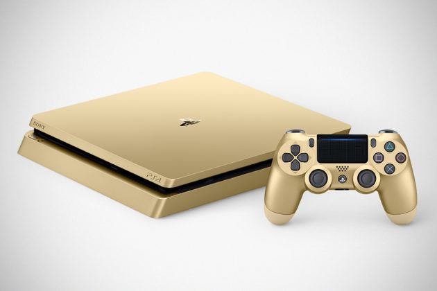 Gold Edition Sony Playstation 4
