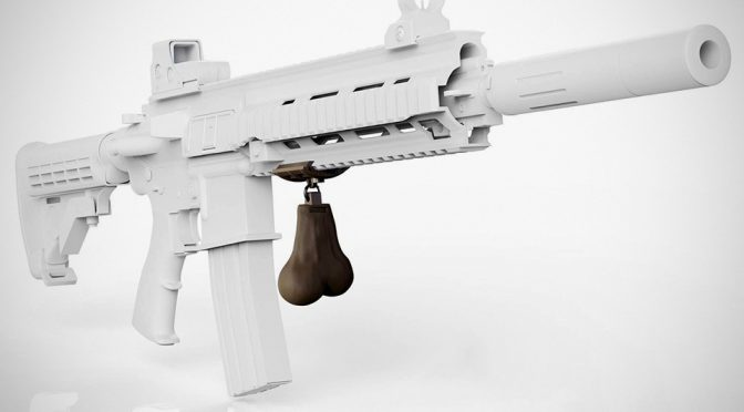 Gunsticles Give Your Firearm Balls And Yes, Gun Nuts Is A Thing